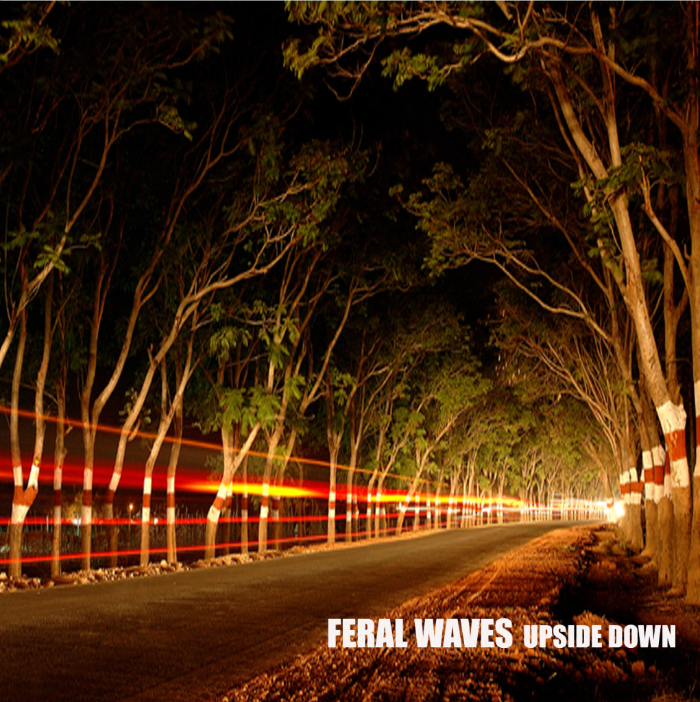 Feral Waves-Upseide Down Album Cover