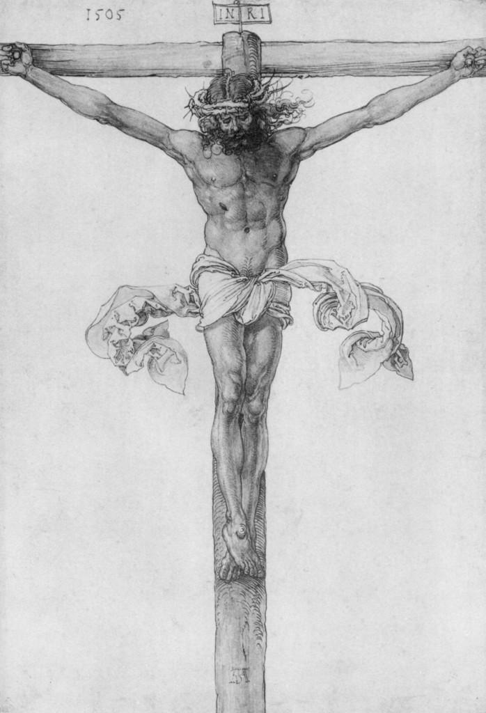Christ on the Cross - Albrecht Durer